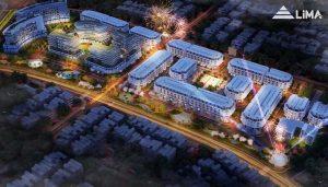Phối cảnh dự án Calyx Residence 319 Uy Nỗ – Đông Anh về đêm